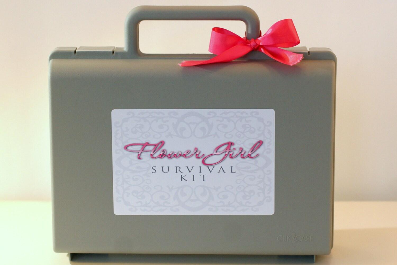 Flower Girl Gift Flower Girl Survival Kit Flower Girl Etsy
