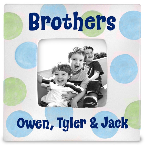 Personalized picture frame Brothers frame Big brother | Etsy