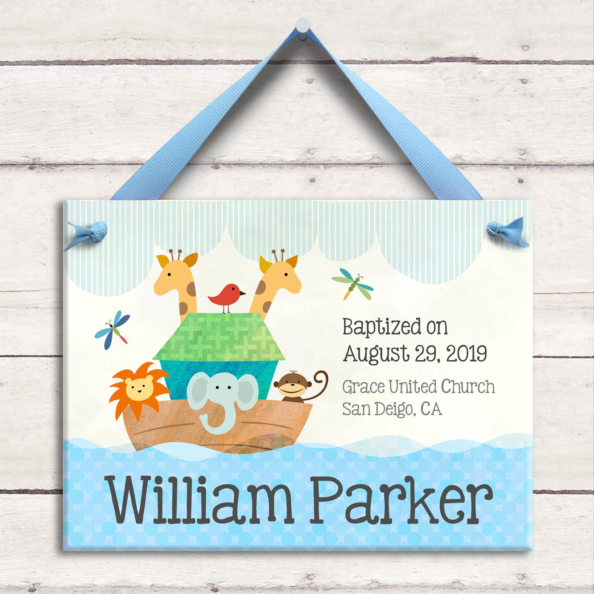 1  sc 1 st  Little Worm And Company & Personalized Baptism Gift - Christening Gift - Dedication Gift - Baby ...