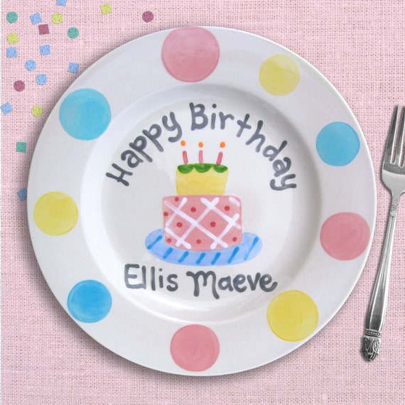 Baby Birthday - Personalized Baby's First Birthday Gift - 1st Birthday - Birthday Cake Topper - Birthday Party - Cake Smash - Birthday Girl