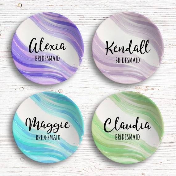 Ring Dish for Bridesmaid - Personalized Jewelry Dish - Useful Bridesmaid Gift - Personalized Bridesmaids Gift - Catchall Dish - Boho Wedding