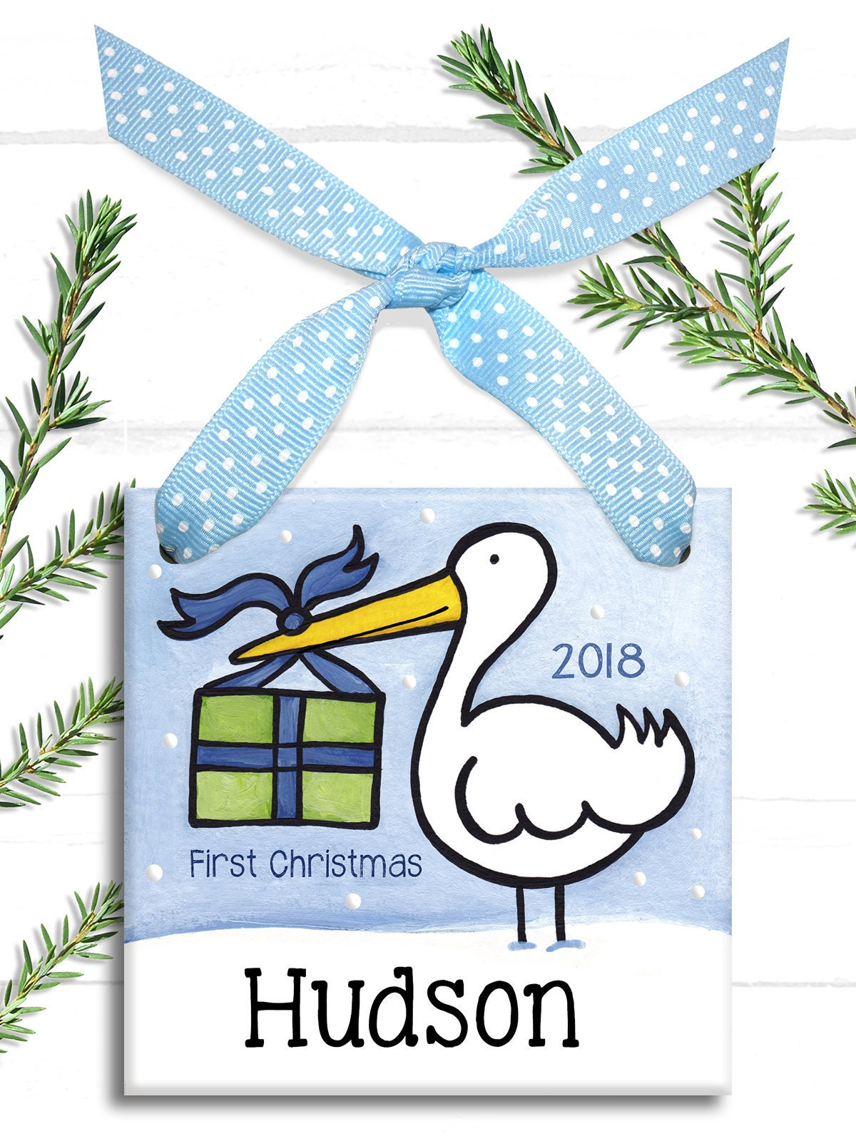babys first christmas ornament baby ornament personalized christmas babies first christmas babys 1st christmas baby boy boy - Baby Boy First Christmas Ornament