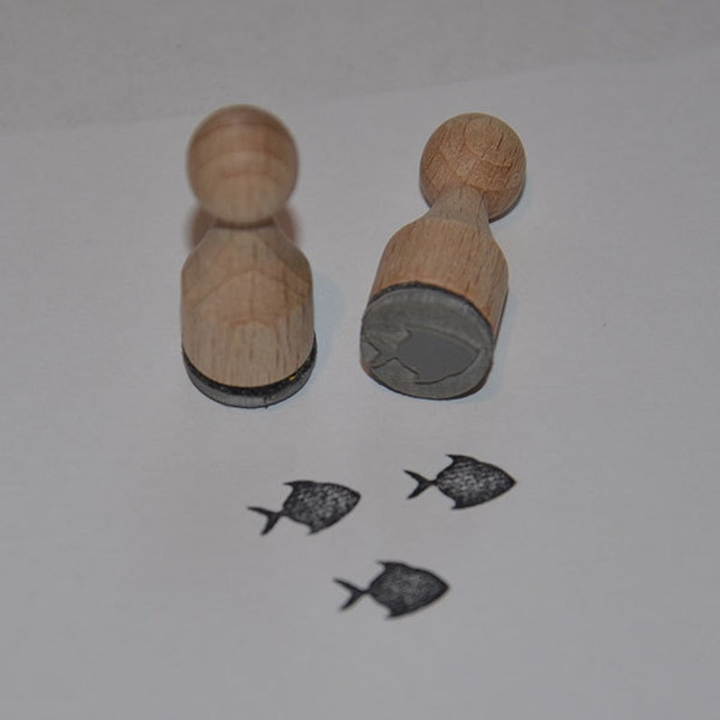 Fish 2 Mini Stamp