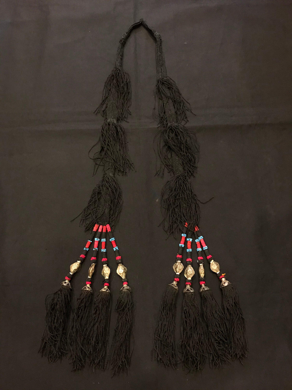 Uzbek tassel old vintage small tassel ethnic tribal tassel decorative tassel accessories tassel