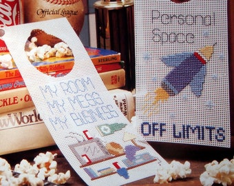 A Little Privacy By Alice Okon From Bed & Bath Cross Stitch Collector's Series Vintage Cross Stitch Pattern Page 1996