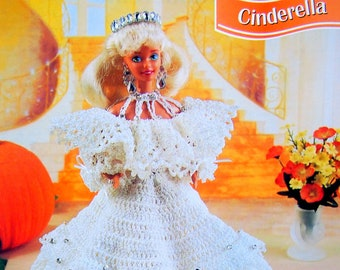 Cinderella By Eileen Garrett And Annie's Fashion Doll Crochet Club Vintage Crochet Pattern Page 1996