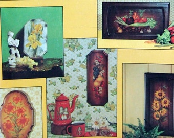 Tole Style Designs By Loretta Sias Vintage Tole And Decorative Painting Booklet 1974