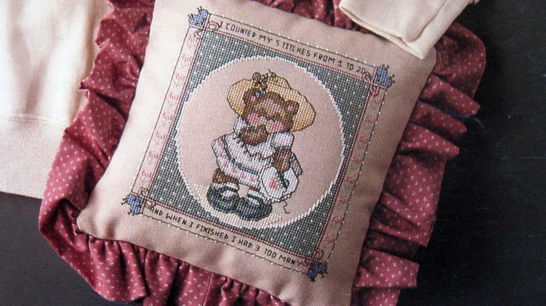 For Needlework Lovers By Marina Anderson Vintage Cross Stitch image 0