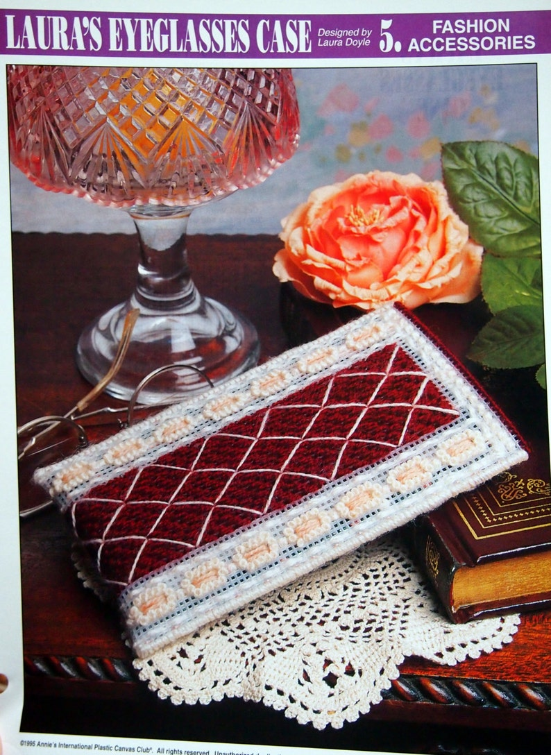 Laura's Eyeglasses Case By Laura Doyle And Annie's image 0