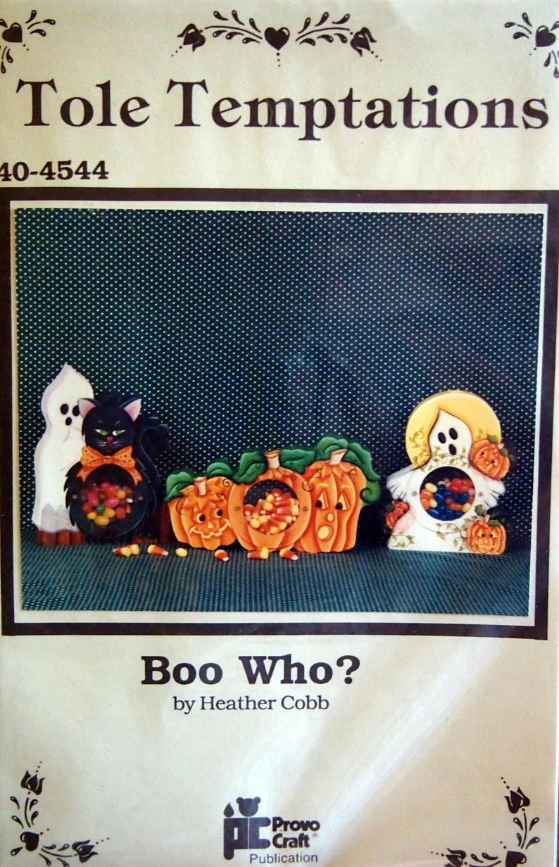 Boo Who Tole Temptations By Heather Cobb And Provo Craft image 0