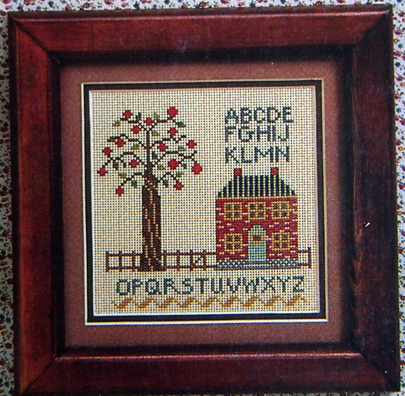 Country-Side Chicks Leaflet 4 By Laura Conley And The Cross Stitch Connection Vintage Cross Stitch Pattern Leaflet 1982