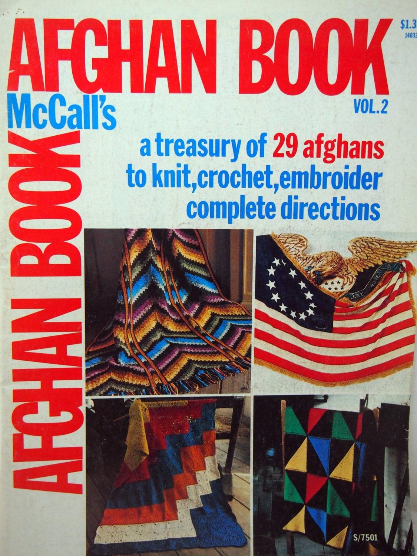 McCall\'s Afghan Buch Band 2 Jahrgang stricken häkeln und