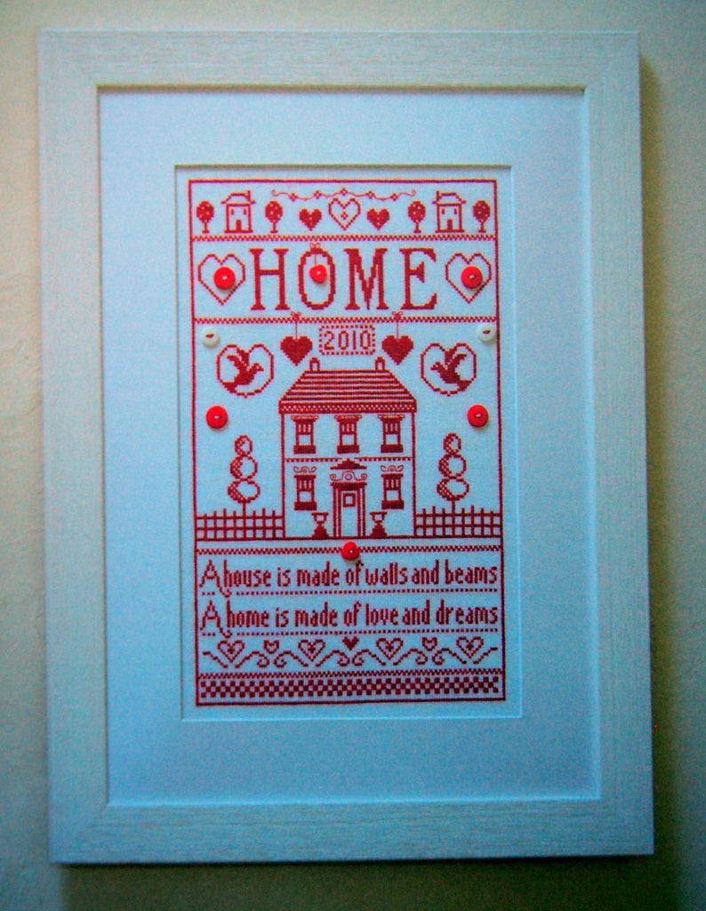 Home Sweet Home By Helen Philipps Paperback Cross Stitch Pattern Book 2010