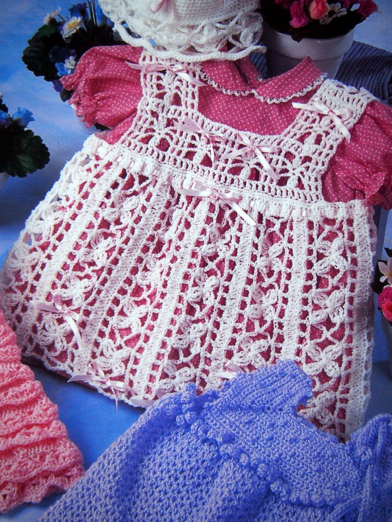 Little Girls' Frilly Fashions By Annie's Attic Crochet image 0