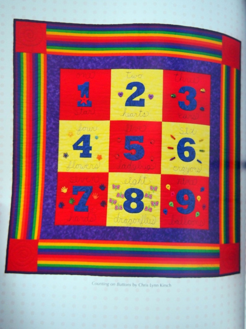 Snuggle And Learn Quilts For Kids By Chris Lynn Kirsch Paperback Quilting Book 2008