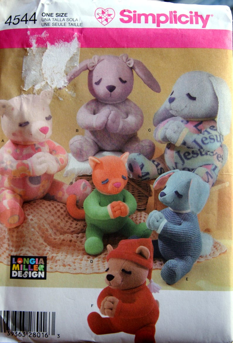 13 Inch Cat Bunny And Bear And 20 Inch Cat Dog And Bunny By image 0