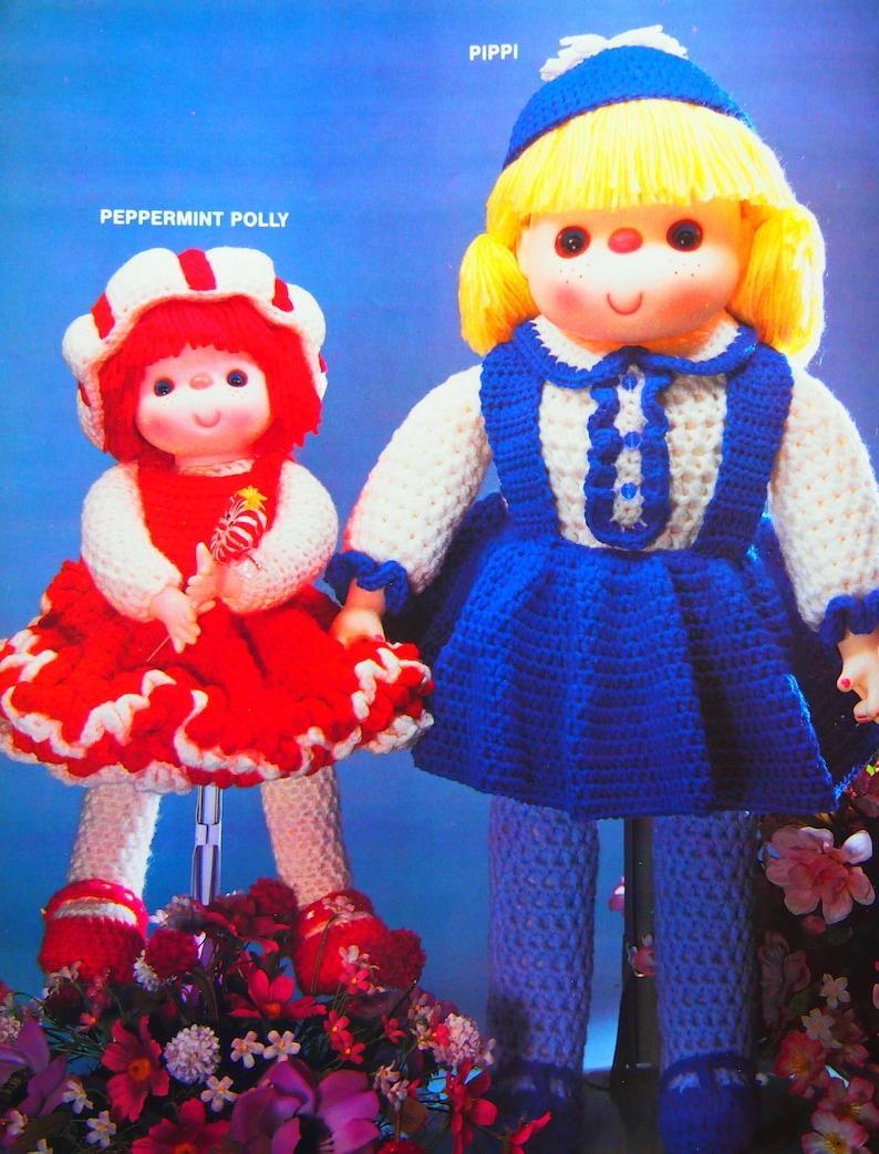 Crochet Confections By Leisure Time Vintage Crochet Pattern Leaflet 1984