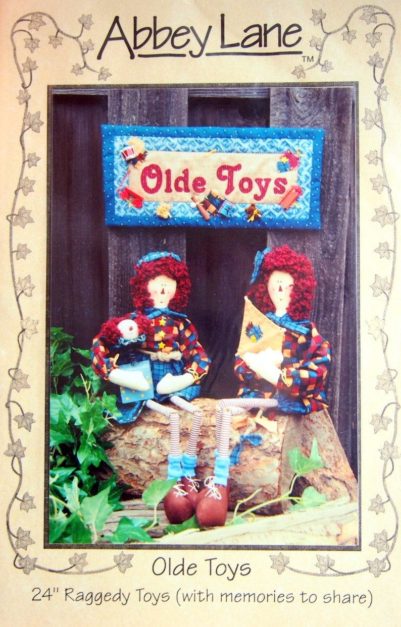 Olde Toys  24 Raggedy Toys With Memories To Share By image 0