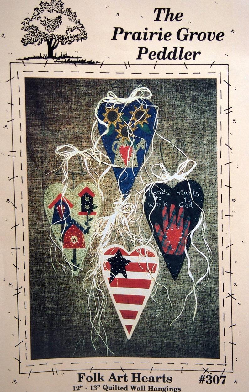Folk Art Hearts By Cheryl Haynes And The Prairie Grove Peddler image 0
