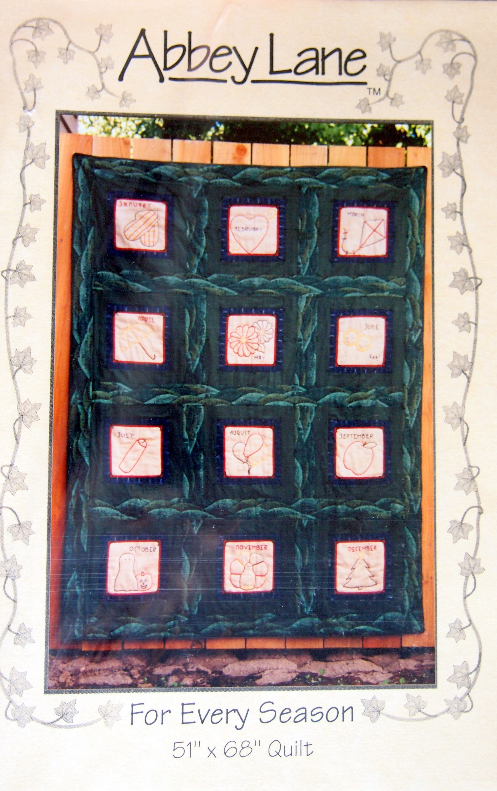 Stars And Stripes Forever By Valarie Seaman And Abbey Lane Sewing And Quilting Pattern Packet 2001