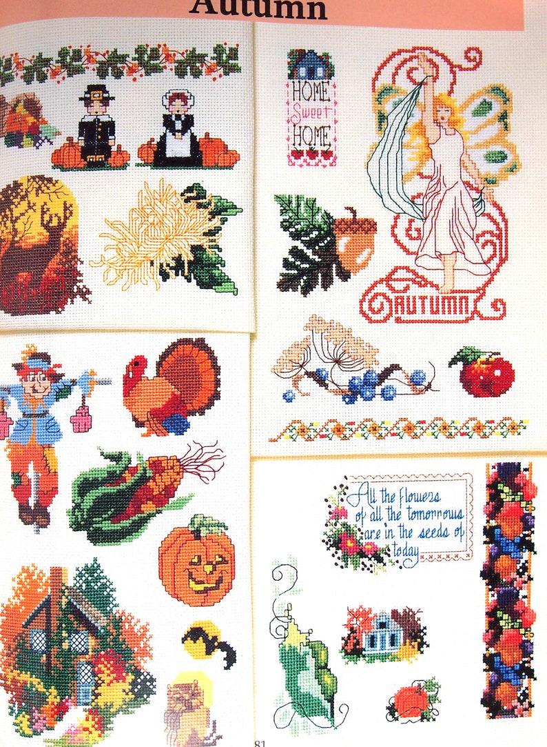 365 Designs Cross Stitch All Through The Year By Sam Hawkins image 0