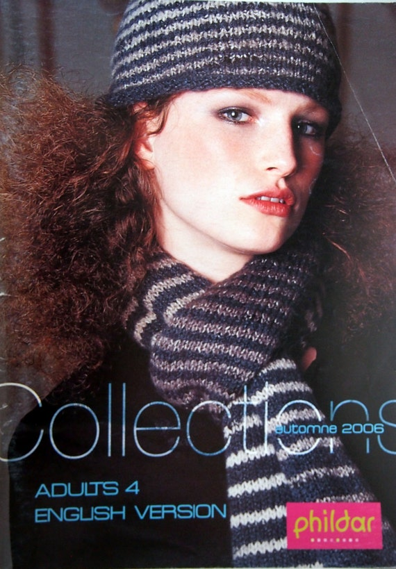 Phildar Collections Adults 4 English Version Knitting Pattern Etsy