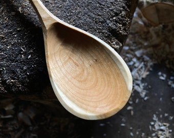 Tear drop cooking spoons