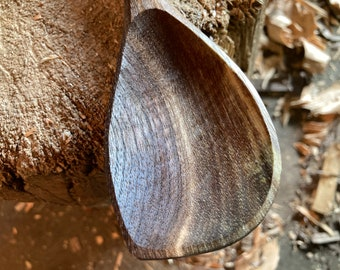 """13"""" wooden spoon, cooking spoon, serving spoon, hand carved wooden spoon"""