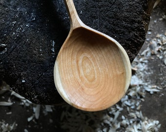 Round cooking spoons
