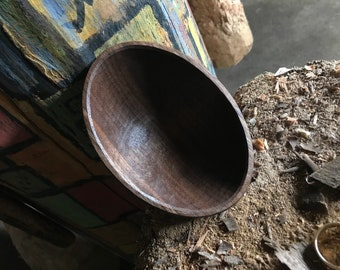 Small bowl, wooden bowl, hand carved wooden bowl