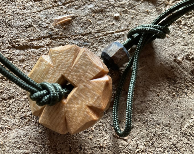 Featured listing image: Toggled lanyard for a noggin, kuksa, wooden cup, scoop or water bottle