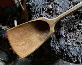 Wok style cooking spoons