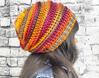 Beyoutiful Slouchy Beanie | Kids Slouch Beanie | Slouchy Hat | Beyoutiful Sunset Beanie | Girls Beyoutiful Beanie | Be Your Own Beautiful