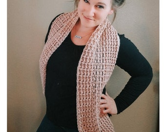 Crochet PATTERN | Style It Infinity Scarf Crochet Pattern | Circle Scarf Pattern | Woman's Long Scarf Crochet Pattern | PDF Digital Download