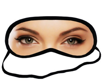 2c825eee174 EYM192 Angelina Jolie Actress Eye Printed Eyes Mask Adult Blindfold Sleep  Masks Party Soft Padded Sleeping Mask Cover Gifts Party Relax