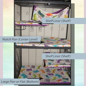 Critter Nation pillowcase liners WITH