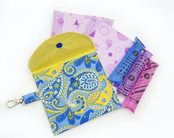 Sanitary pouch Privacy pouch Tampon pouch Feminine Pouch Teenager privacy pouch
