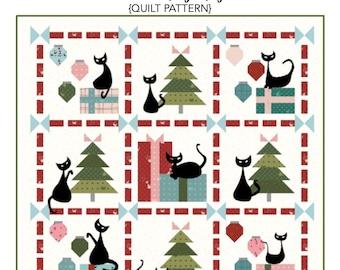 Mod Christmas PDF Quilt Pattern - Mod Meow