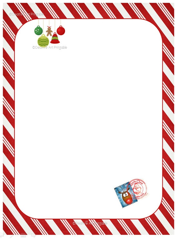 Christmas Santa Letter Kids Dear Santa Christmas Gift Instant Download Printable Carta A Santa Claus Klaus San Nicolas Navidad