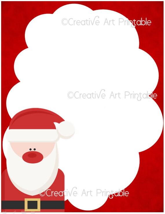 Christmas Santa Letter Kids Dear Santa Christmas Gift