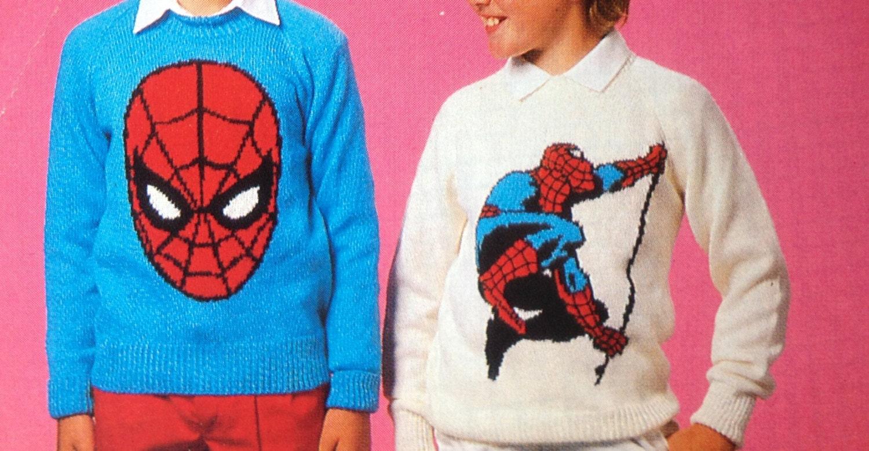 Beautiful Free Spiderman Knitting Patterns Photo - Sewing Pattern ...