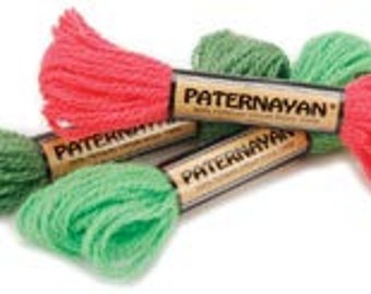 Paternayan Persian Wool Yarn skein(8yds each)-your choice of colors- 70 colors available