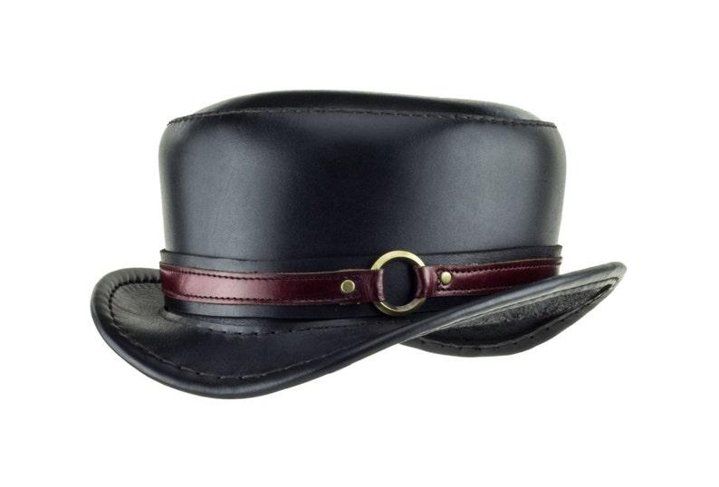 6e6c76e6a Leather Hat