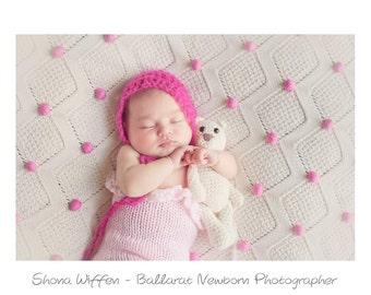 Crocheted Teddy bear Colour your choice Made to order