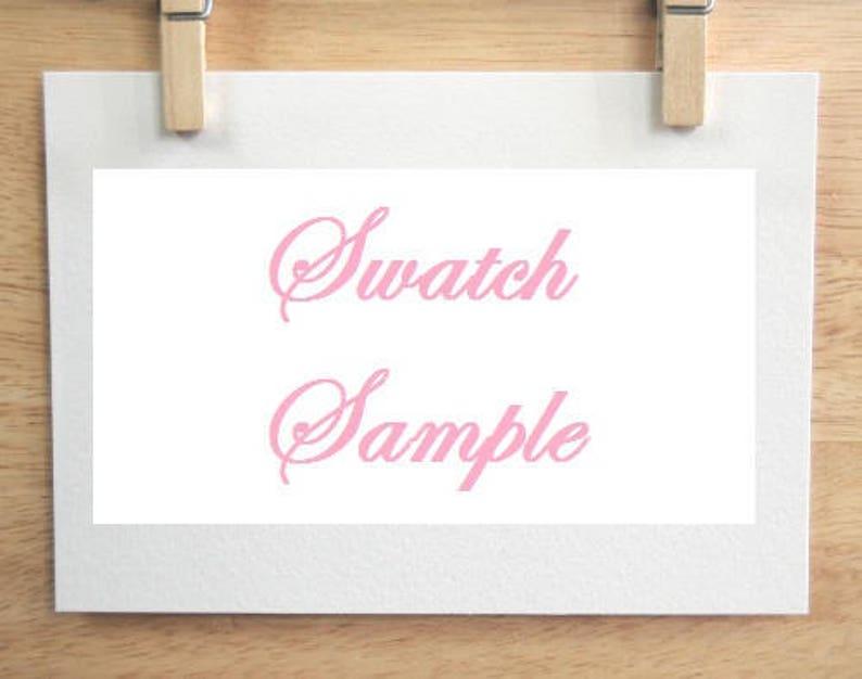 Swatch Sample