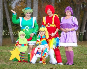 Rainbow Brite Adult Size Cosplay Costume
