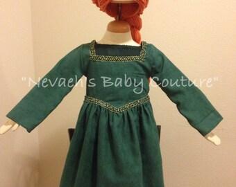 Fiona dress Ogre Gown Princess Fiona Halloween Costume Shrek Costume Princess Gown Ogre Dress Cosplay Girl Princess Costume