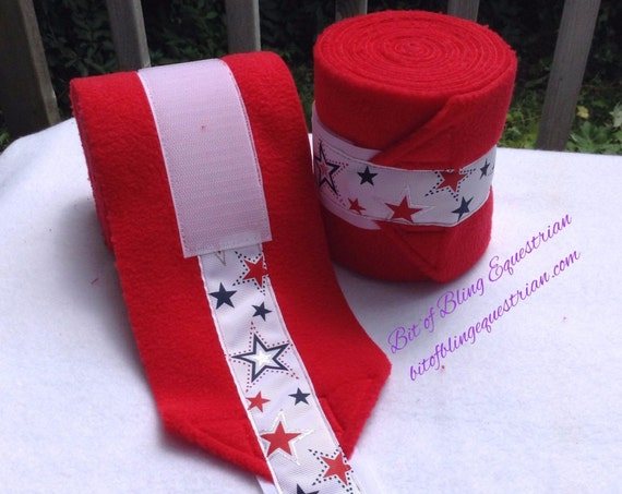 Patriotic Polo Wraps - set of 2