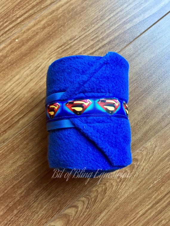 4 Superhero Ribbon Polo Wraps - Assorted Styles