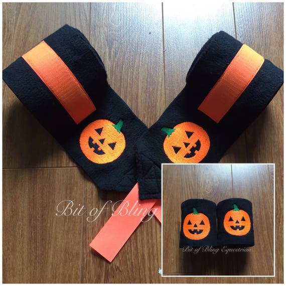 4 Custom Hallowe'en Polo Wraps